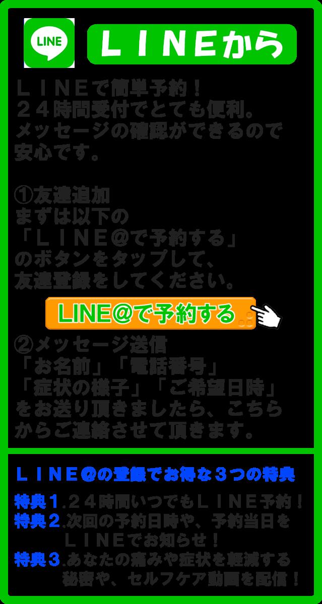 スマートフォン用のLINE@画像